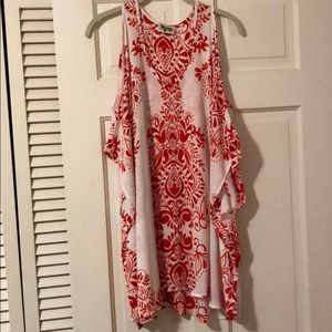 Show Me Your Mumu Cold Shoulder Tunic